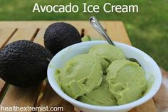Avocado Ice Cream Recipe