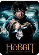O Hobbit: A Batalha dos Cinco Exércitos - Após o furioso ataque do dragão Smaug à Cidade do Lago, Bard consegue derrotá-lo. Sem o animal em seu caminho, ele segue com os sobreviventes para a montanha de Erebor, em busca de refúgio. Mas as riquezas do local também atraem aventureiros, que iniciam uma corrida pelo ouro. Obcecado pelo tesouro acumulado, Thorin fará de tudo para impedir a entrada de forasteiros no interior da montanha, enquanto Bilbo Bolseiro e Gandalf tentarão evitar o caos…