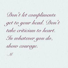 Some compliments might be false, some critics might be right. Let your intuition guide you. #dubaipersonalconsultant #dubaiadviceblogger #makmercedez #missfixitdubai