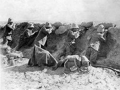Italian-Turkish War. Libya, 1912 - Colonial Troops of the Royal Italian Army in Cirenaica