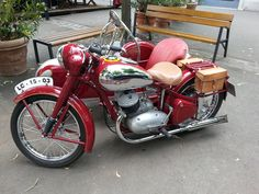 Vintage Motorcycles, Cars And Motorcycles, Vintage Cars, Honda, Bike, Vehicles, Bicycle, Rolling Stock, Vehicle