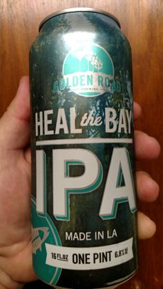 Golden Road Brewing Company Heal the Bay IPA