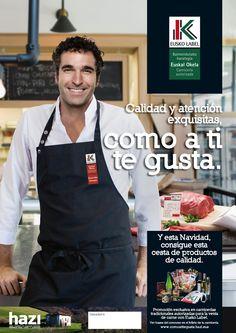 Promoción navideña para la venta de Euskal Okela