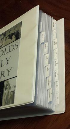 Family History Binder – Do As I'm Doing