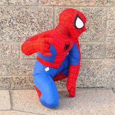 Boneco de Pelúcia do Homem Aranha 35cm