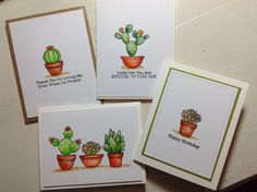 Sweet succulents, MFT Stamps