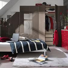 modern bedroom with high gloss wardrobe - Google Search