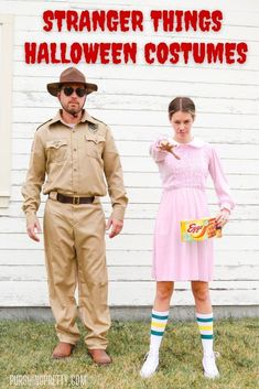 Stranger Things Halloween Costumes - Halloween ideas - Costume ideas - Netflix shows - couples costumes#halloween