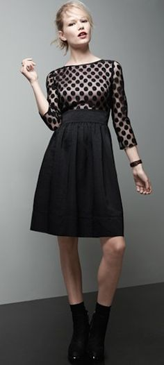 cute dot mesh dress http://rstyle.me/n/k2nivr9te