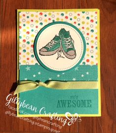 Gillybean Crafting : Awesomely Epic with Stampin' Up!s Epic Celebration set