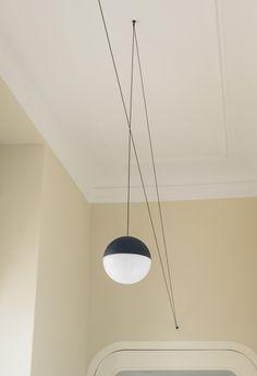 String Light Sphere head by Flos —   ECC New Zealand