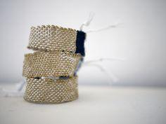 trio de bracelet LOOM N°22 http://myriambalay.fr/bracelet-loom-n22/