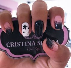 Fancy Nail Art, Fancy Nails, Trendy Nails, Square Acrylic Nails, Cute Acrylic Nails, French Manicure Designs, Nail Designs, Short Nails, Pedicure