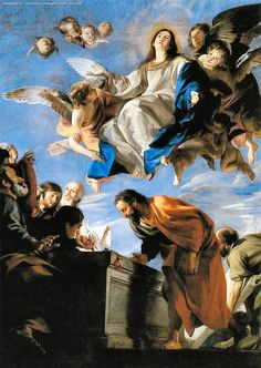 Juan Martin Cabezalero - Assunzione di Maria ( 1665 - 1670 ) - Prado, Madrid