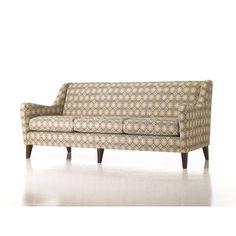 Studio Q Furniture Brodie Sofa in Grade 3 Vinyl Frame Finish: Amber Cherry, Upholstery: Vinyl Onyx