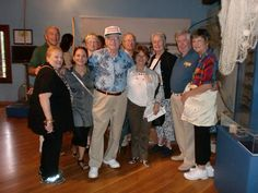 Delegation members Alexandria De Stefanis, SSCA City Director for Treviso; Angel Algeri; Ken & Peggy Abt; Frank Cerullo; George & Pat Edmonds; Tom Halbert;Gayle Maxey; and Susanne & Silvana Wriston at the Sant' Artemio Provincial history museum in Treviso Province, Italy