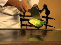▶ CHEF JITU PHUKAN'S TEPPANYAKI ASPARAGUS - Garlic Sauce, Garlic Butter, Cooking Chef, Cooking Time, Teppanyaki, Trident, Butter Recipe, Serving Size, Sauce Recipes