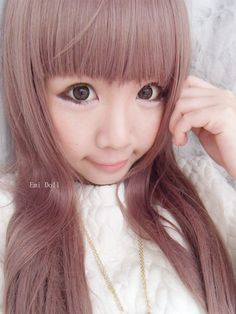 GEO Xtra Lavender Brown WFL-A54 Brown Contact Lenses, Lavender Brown, Brown Eyes, Geo