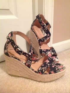 fa9d9ae7e Nordstrom Coconuts by Matisse Women s Grace Espadrille Wedge Sandal Rare Sz  7M  fashion  clothing