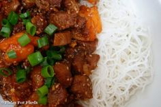 Sweet and Spicy Vegan Pork