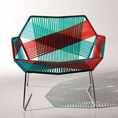 Patricia Urquiola Tropicalia chair. Actually, I just want everything she's ever designed. She rocks