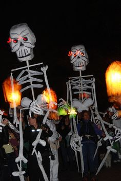 Baltimore Lantern Parade in Patterson park