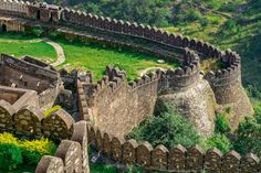 The Kumbhalgarh Fort in Udaipur has the longest wall which is second only to the 'Great Wall of China'. Kumbhalgarh Fort was built by Rana Kumbha and is one of the prominent forts built by the rulers of Mewar.Kumbhalgarh Fort is now situated in Rajasmand district. It once belonged to Mewar Kingdom.