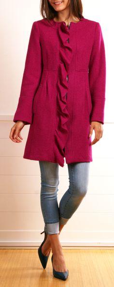 Nanette Lepore Fuschia Coat