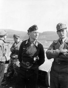 Lt. Col. Heinz-Günther Guderian after being captured along with the remnants of the 116th Tank Division, April 1945