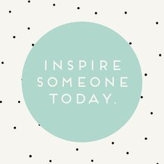 "Follow along on Instagram http://instagram.com/lovelyclustersblog | ""Inspire Someone Today"" from OH NO Rachio!"