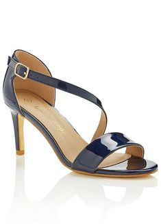 Patent Asymmetric Sandals by Kaleidoscope Occasion Wear, You Bag, New Outfits, Kitten Heels, Sandals, Bags, Shoes, Fashion, Handbags