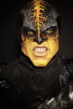 Image result for lava skin sfx makeup