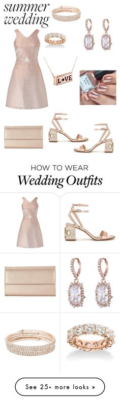 """""""time to be the best dressed guest!... forever"""" by loreher26 on Polyvore featuring Miss Selfridge, Anne Klein, Neiman Marcus and Alexis Bittar"""
