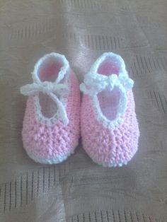 #crochet #tejidos #zapatos #bebe