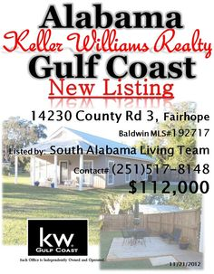 New Listing in Fairhope, AL by the South Alabama Living Team