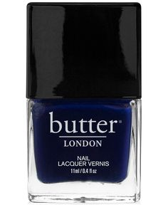 Nail Lacquer In Royal Navy, Butter London