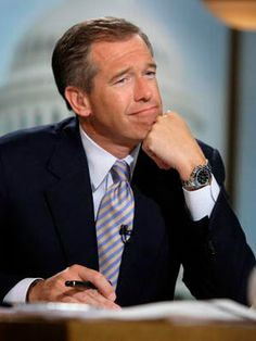 Brian Williams // We hope you were appropriately watching him co-host this morning: http://on.today.com/v7RbNp