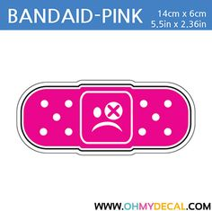 [ Bandaid - PINK ] STICKER BOMB SERIES