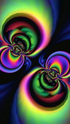 Wallpaper Iphone Love, Fractal Art, Badass, Abstract Art, Walls, Wallpapers, Colorful, Heart, Cake