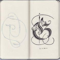 hand drawn G