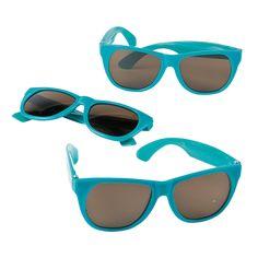 Turquoise Nomad Sunglasses - OrientalTrading.com