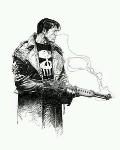The Punisher by Travis Charest by thegeekrealm