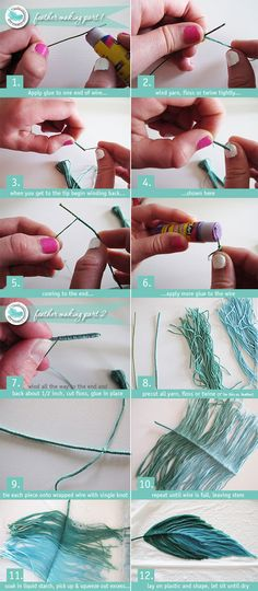 DIY Feathers Tutorial
