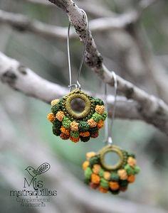 Pendientes de Crochet | Pendientes realizados a crochet - Cr… | Flickr