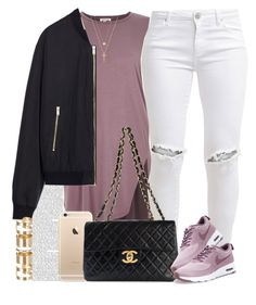 """Sorry I haven't posted in a while "" by livelifefreelyy ❤ liked on Polyvore featuring FiveUnits, Chanel, NIKE, Gucci, Joolz by Martha Calvo, Zara and Atmos&Here"
