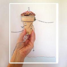 Ice Cream Castle - Karina Sharpe Portfolio - The Loop