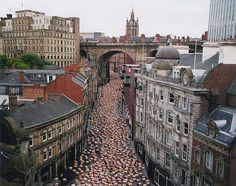 Art by Photographer Spencer Tunick