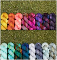 Fancy Tiger Crafts: Hand Dyed Sock Yarn by Hedgehog Fibres!