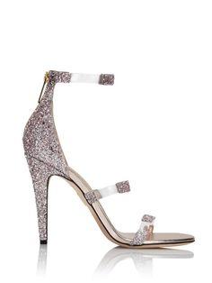 170aeeb3140fcb blush glitter pvc sandal Designer Sandals