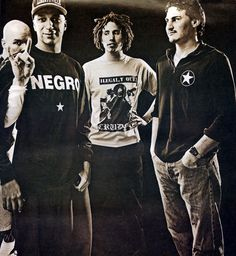 Rage Against the Machine, Spin Magazine, 1997.    Photo: Michael Llewellyn